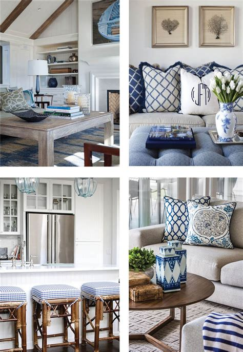 Leather Rugs Australia Coastal Style Hamptons Style Chic In Blue