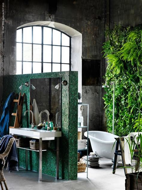 48 bathroom interior ideas with flowers and plants ideal