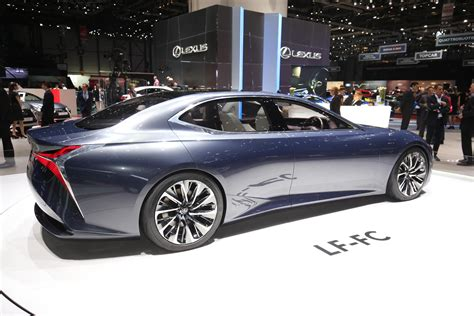 lexus lf fc lexus lf fc at the 2016 geneva motor show photos videos