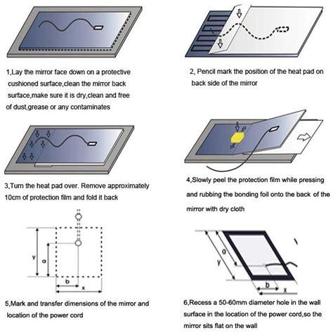 Bathroom Mirror Heater Element Heating Foil With Bathroom Mirror Buy Heating Foil