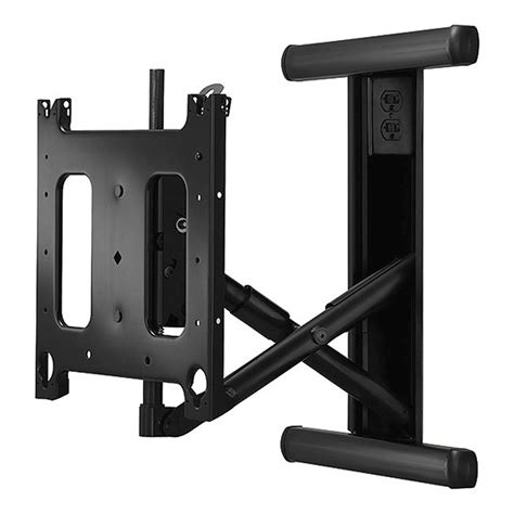 swing arm wall mount chief large swing arm flat panel in wall mount for 42 71