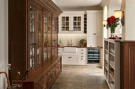 wood mode kitchen cabinet doors create the look of this wood mode elegant traditional