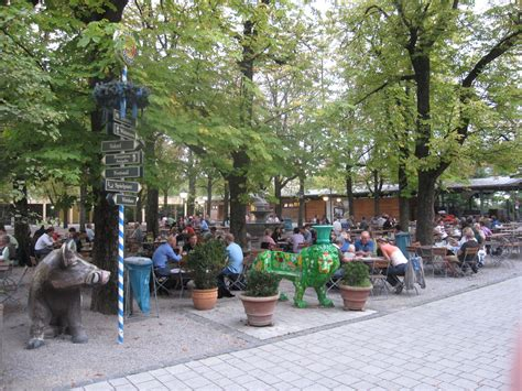 beer gardens  munich germany travel guides