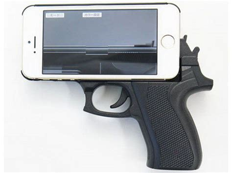 Grip Phone And Safety Handle 1181 pistol grip phone cases gun grip