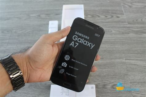 Charger Samsung A7 2017 Whit Usb C Fast Charge Original samsung galaxy a7 2017 unboxing and impressions