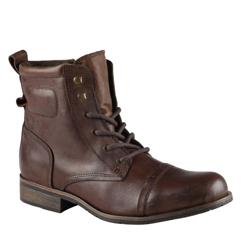 boot for lyst aldo fahroni in brown for