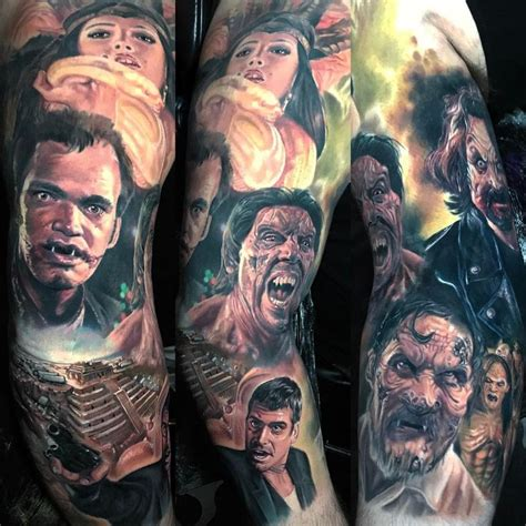 from dusk till dawn tattoo 27 best fright tattoos images on fright