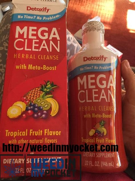 Most Effective Marijuana Detox by Mega Clean In My Pocket