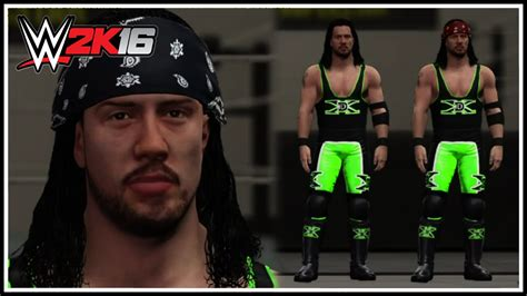 Tutorial Xpac | wwe 2k16 how to make x pac s dx attire easy tutorial