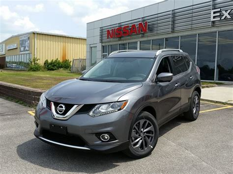 grey nissan rogue 2016 nissan rogue sl grey experience nissan car