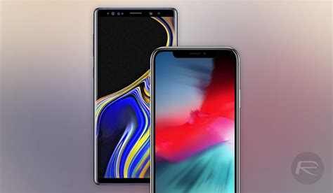 iphone xs max vs xr vs galaxy note 9 size comparison redmond pie