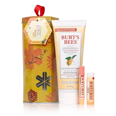 Kr Lavia Set Coco burt s bees naturally gifted gift set cocoa edition buy mankind