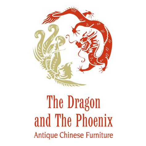 the dragon and the phoenix free vector 4vector