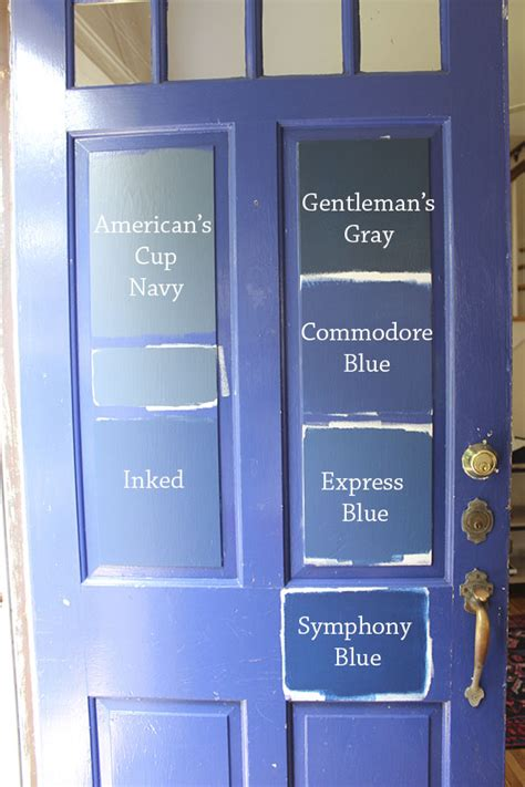 navy blue door 8 paint colors for a blue front door blue door living