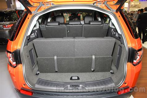 land rover discovery sport trunk space land rover discovery sport boot space at the 2015 gaikindo