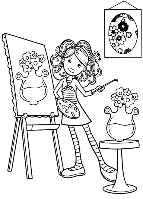 Paint Horse More Images Of Paint Coloring Pages Posts Painter Painting Coloring Pages In New Coloring And Painting