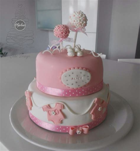 Pink Elephant Baby Shower Ideas by Ev 233 Nements Apoline Cake Design