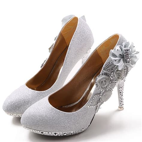 4 inch high heels wedding shoes formal dress s