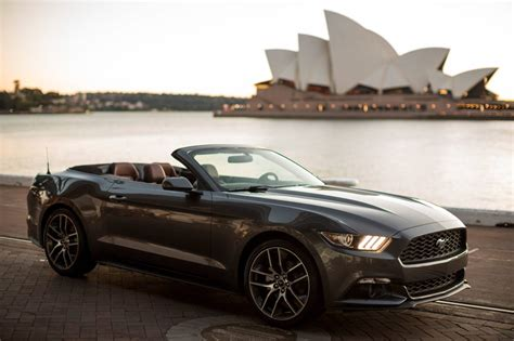 new ford mustang australia price news 2015 ford mustang pricing announced