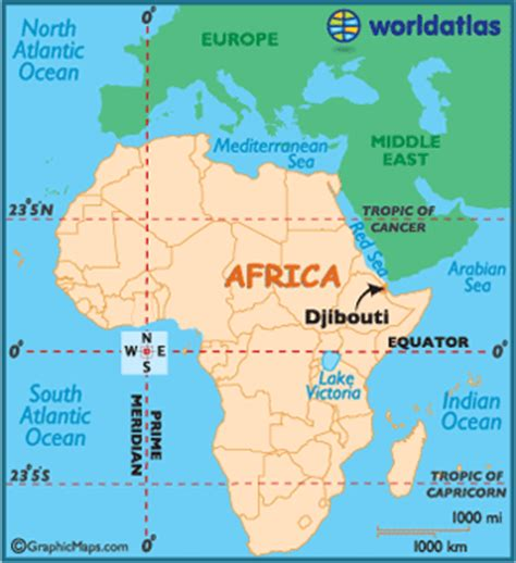 Djibouti Africa Map by Djibouti Map Geography Of Djibouti Map Of Djibouti