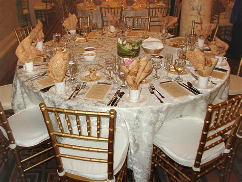 Wedding Reception Table by Allen County Courthouse Preservation Trust