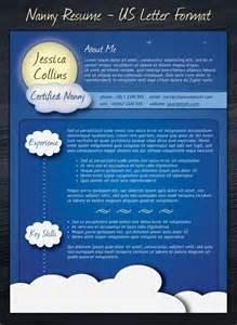 free nanny resume templates 21 stunning creative resume templates