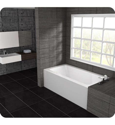 alcove bathtub installation pu6030 oceania pure pu6030 alcove installation