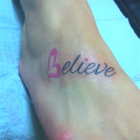 tattoo pictures believe believe tattoo tattoos pinterest