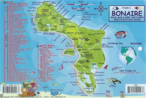 bonaire map bonaire is aka diversparadise caribbean island which together with aruba and cura 231 ao forms