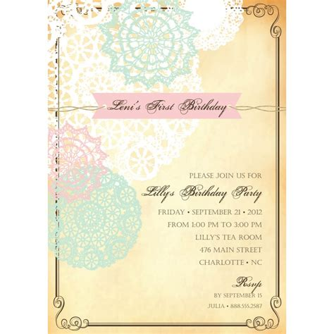 free vintage invitation templates 40th birthday ideas free birthday invitation templates