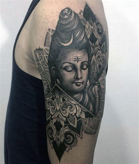 shiva tattoo designs for men 60 shiva designs for hinduism ink ideas