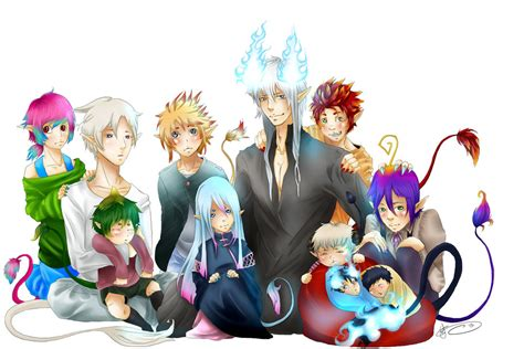 blue family family photo by the13th warrior on deviantart