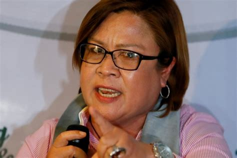 the leader i want leila de limas to fix list for 2016 de lima no shortcut to law and order headlines news