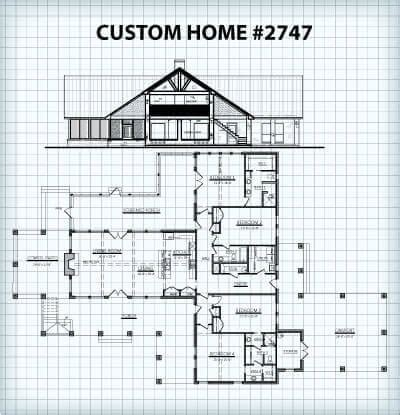 Floor Plans For Custom Homes And Guest Houses Hill Country Guest House Plans