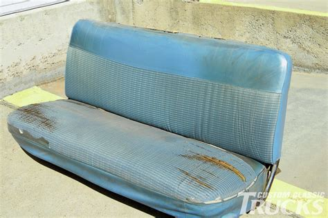 classic truck bench seat 301 moved permanently