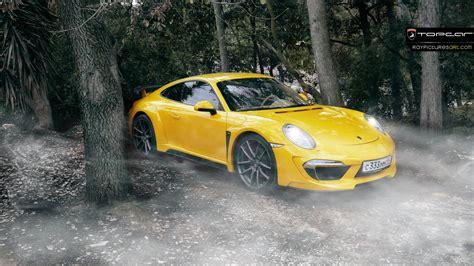 yellow porsche 911 stunning yellow porsche 911 stinger by topcar