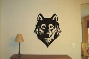 Wolf Wall Stickers Wolf Wild Life Vinyl Decal Wall Sticker Wall Tattoo Wall