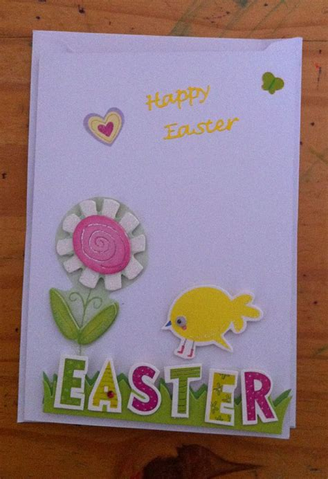 Easter Handmade Cards - handmade easter card handmade cards