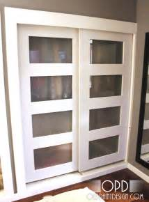 By Pass Closet Doors White Bypass Closet Doors Diy Projects