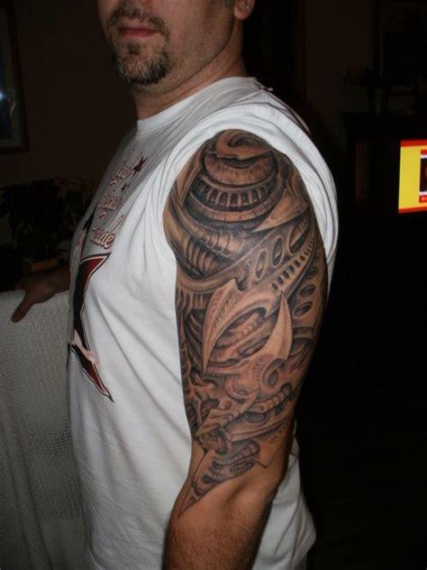 tattoo back upper arm biomechanic upper arm tattoo tattoo picture at