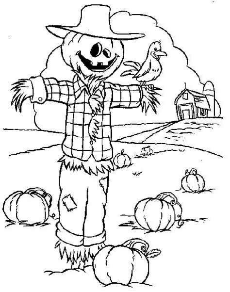 63 best fall coloring pages images on pinterest