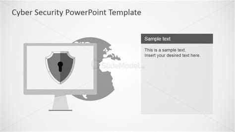 Powerpoint Slide Design Featuring Backdoor Vulnerability Cyber Security Program Template