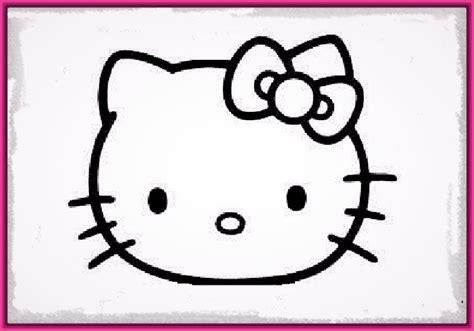 imagenes para dibujar faciles de hacer los mejores dibujos faciles de hello kitty imagenes de