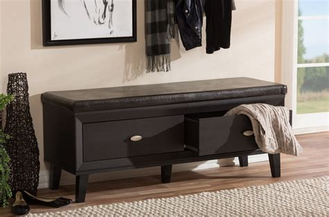 training wood project complete entry bench with shoe dark wood storage bench 28 images dark takhat hall