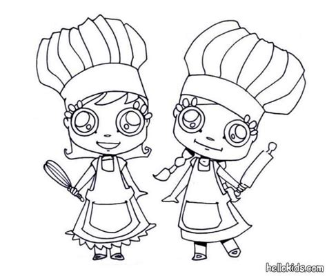 Ready To Cook Coloring Pages Hellokids Com Cooking Coloring Page