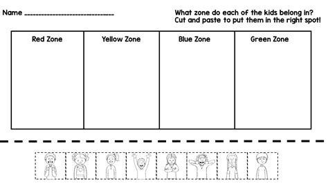 free printable zones of regulation free printable emotional regulation worksheets goodsnyc com