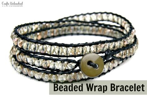 beaded wrap bracelet diy 1000 images about jewelry tutorials on