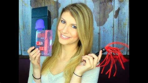 Sex Toy Review Haul Youtube