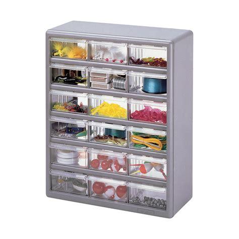 Multi Drawer Storage Cabinet Stack On Multi Drawer Storage Cabinet 18 Drawer 14 7 8in X 6 3 8in X 18 1 2in Size