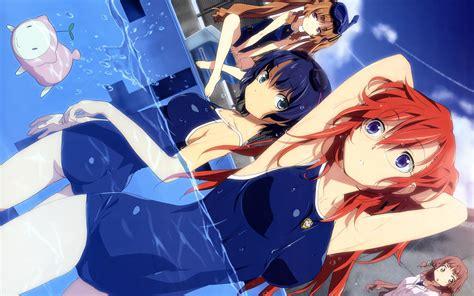 anime girl swimsuit wallpaper download anime swimsuits wallpaper 2560x1600 wallpoper